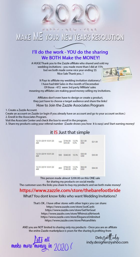 Become an Affiliate and make money