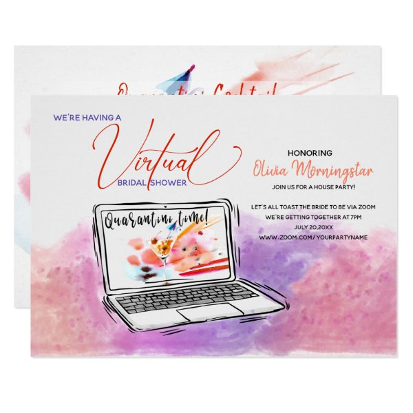 Virtual Bridal Showers